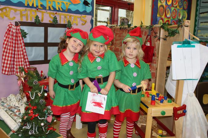 Elves in their workshop!