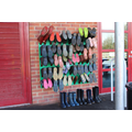 Welly racks for the times we learn outdoors