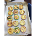 Making French Quiche