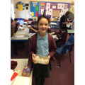 Hattie made some incredible Anglo-Saxon biscuits.