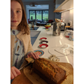 Banana and Chocolate Cake from Aoife