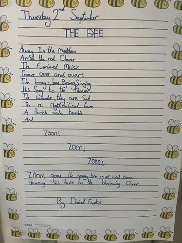 The Bees' Knees Reward Display Poetry