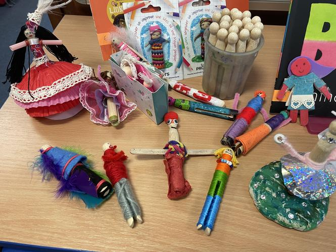 Creative Worry Doll Homework (Inspired By Anthony Browne's Story 'Silly Billy'.