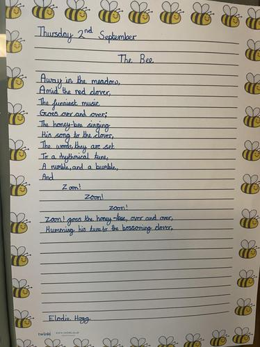 A Quality Busy Bee Poetry Piece