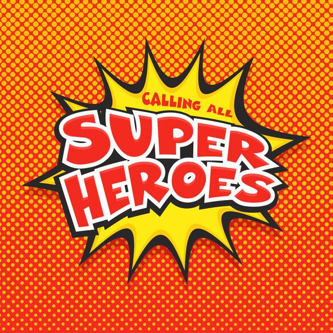 Calling All Super Heroes logo