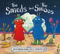 Wednesday 14th book is 'The smeds and the smoos'