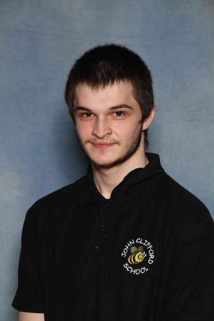 Mr Aron Davies - School Cleaner