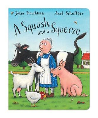 Monday 12th book is  'A squash and a squeeze'