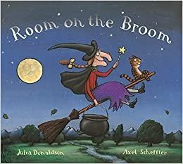 Tuesday 13th book is 'Room on the Broom'