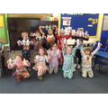 Making our own paper dolls, inspired by the Julia Donaldson story 'Paper Dolls'