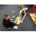 Retelling key text stories with puppets