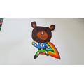 NHS bear by Juno