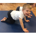 Creating animal poses in yoga to stories was great fun!