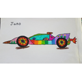 Race car by Juno