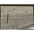 Field Sketch of an Italian Landscape