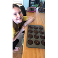 Jess has been baking for her family!
