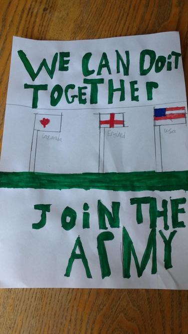 Propaganda poster by Luke