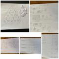 Some of Kyan's Maths! Well done Kyan!