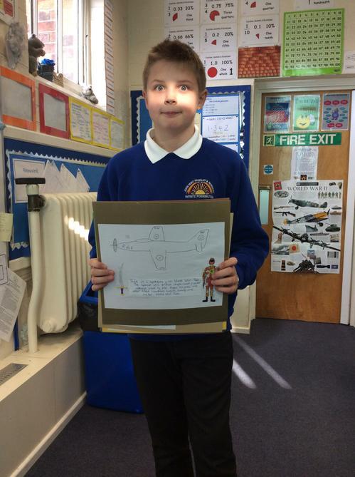 Alfie's brilliant & informative fact file on WW2!