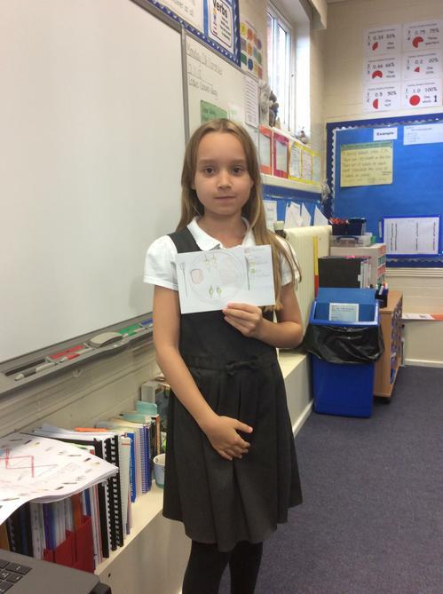 Emelia shares information on food.