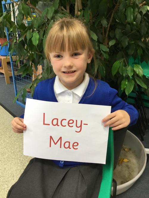 Lacey-Mae has been showing the Ladybirds how to do fantastic Take Care tidying!