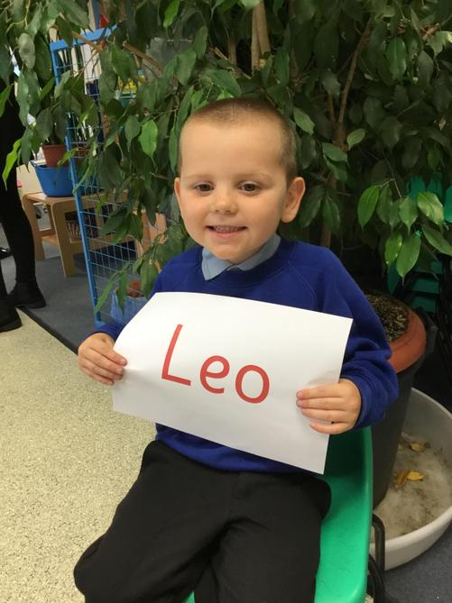 Leo for brilliant effort in Read Write Inc