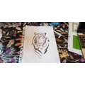 Luke's impressive Tiger sketch
