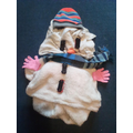 One of Elliott's snowmen!