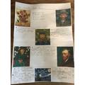 Alfie's Van Gogh Timeline