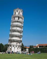 Leaning Tower of Pisa in Pisa