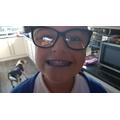 Shiny teeth!