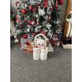 Ruby-Ann made a fab snowman!