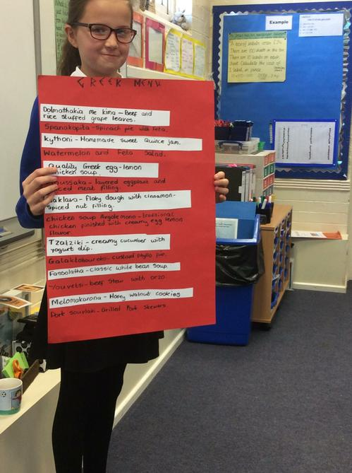 Darcie gives us some Greek facts.