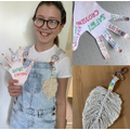 Zuzanna has been busy learning how to make macrame
