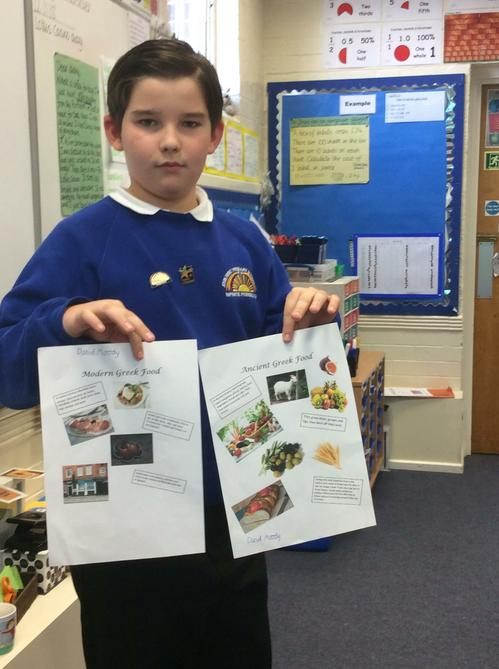 Anyone for lunch? Daniel shares some menus.