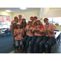 Staff Enjoying World book day