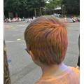 Coloured hair!