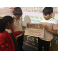 Then we presented what we had discovered.