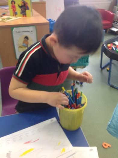 Concentrating on colours!