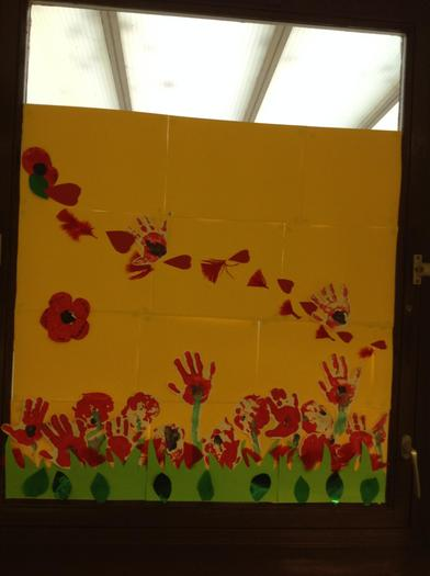 Nursery poppy work