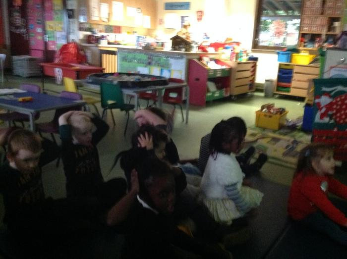 We have learnt lots of new action songs and rhymes.