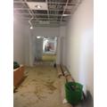 Wide corridor space