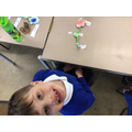 We labelled a flower