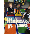 Sorting alien and real words
