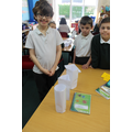 Mixed yr group STEM Challenge during Science Week