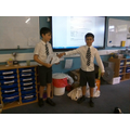 presenting our results to the class