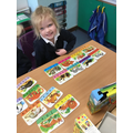 Blend and Read Animal Puzzle