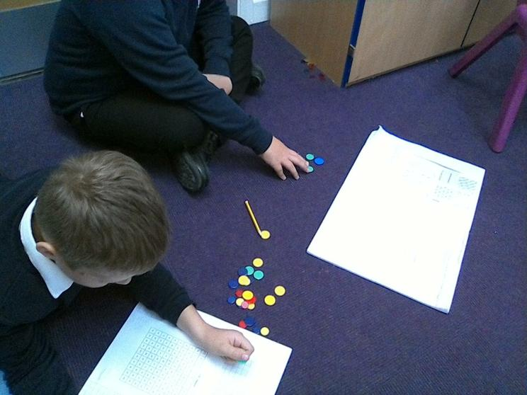Using arrays to determine if numbers are prime