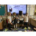 Stick Man drama - The children retold the story
