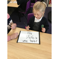 Writing topic words